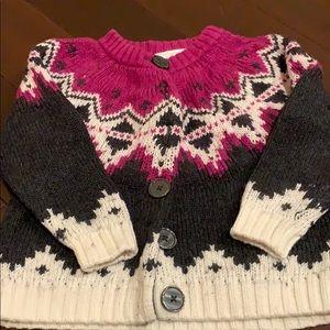 Hanna Anderson winter sweater. Size 90